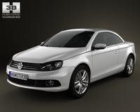Volkswagen EOS 2012 3D Model
