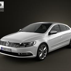 Volkswagen Passat CC 2013 3D Model