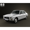 Peugeot 504 Sedan 1970 3D Model