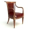 Photorealistic Antique Armchair 2 3D Model