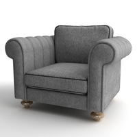 Club Armchair 3D Model