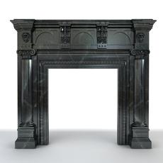 Fireplace 2 3D Model