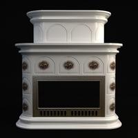 Fireplace 3 3D Model