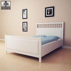 IKEA HEMNES Bed 2 3D Model
