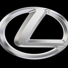 Lexus LOGO 3D Model