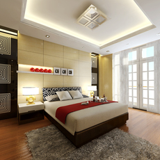 3D Model Photoreal Apartment or Hotel Suite B2-c07 3D Model