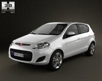Fiat Palio 2012 3D Model
