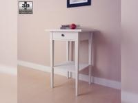 IKEA HEMNES Bedside table 03 3D Model