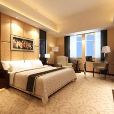 Hotel Room 002 3D Model