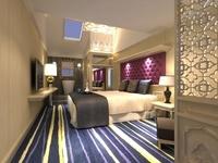 Hotel Room 003 3D Model