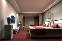 Hotel Room 004 3D Model