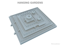 Hanging Gardens of Babylon 3D Model