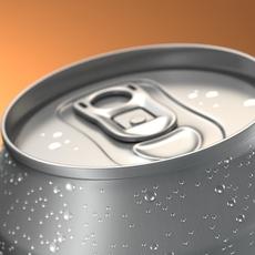 Aluminum Beverage Can 3D Model