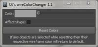 OJ's wireColorChanger  1.1.0 for Maya (maya script)