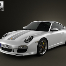 Porsche 911 Sport Classic 2011 3D Model