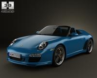 Porsche 911 Speedster 2011 3D Model
