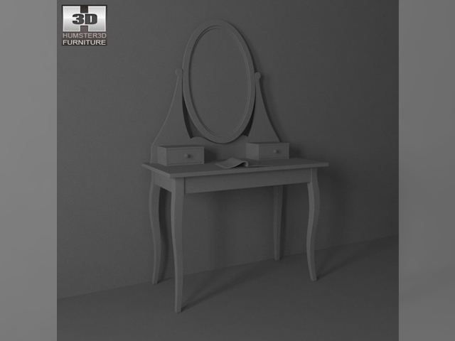 Excellent ikea hemnes dresstable x with ikea 3d dressing for Dressing ikea 3d