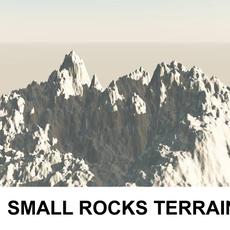 3d Terrain Small Rocks 3D Model