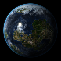 Free Procedural Earthlike Planet for Maya 1.0.1