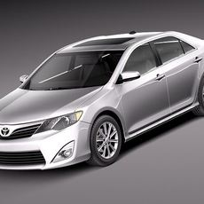 Toyota Camry LE 2012 USA 3D Model