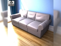 IKEA EKTORP three-seat sofa 3D Model