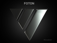 Foton 3d Logo 3D Model