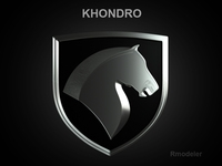 Khondro 3d Logo 3D Model