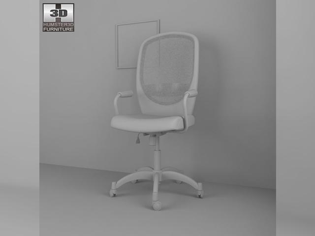 ikea vilgot nominell swivel chair 3d model