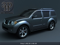 Nissan Pathfinder 2011 2012 3D Model