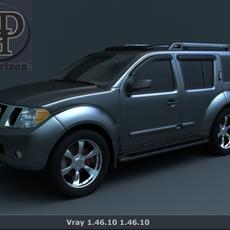 Nissan Pathfinder 2011 2012 3D Model