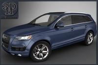 Audi Q7 2012 3D Model