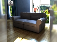 IKEA EKTORP two-seat sofa 3D Model