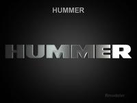 Hummer 3d Logo 3D Model