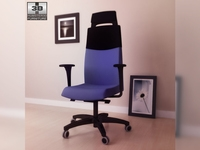 IKEA VOLMAR Swivel chair 3D Model
