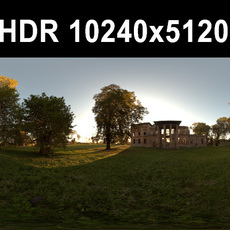 Ruin 2 Afternoon HDR Panorama