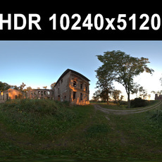 Ruin 4 Afternoon HDR Panorama