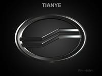 Tianye 3d Logo 3D Model