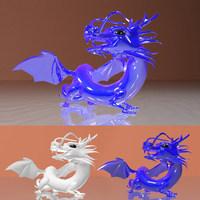 Dragon Chi 3D Model