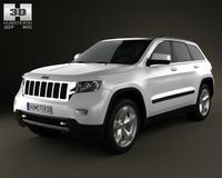 Jeep Grand Cherokee 2011 3D Model