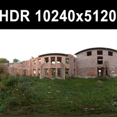 Ruin 5 Afternoon HDR Panorama