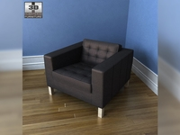 IKEA KARLSTAD armchair 3D Model