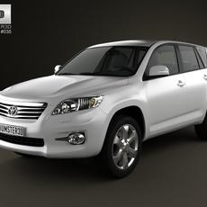 Toyota Rav4 European 2012 3D Model