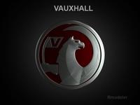 Vauxhall 3d Logo 3D Model