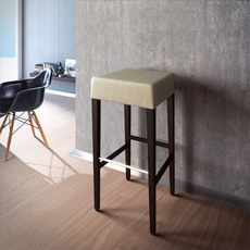 Custom bar stool 01 3D Model