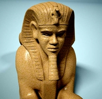 Statue of Sphinx 3D Model