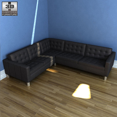 IKEA KARLSTAD corner sofa 3D Model
