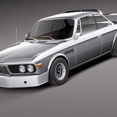 BMW 3.0 CSL RACING 1973 3D Model