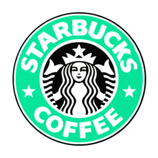 StarBucks 3d Logo 3D Model