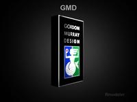 GMD 3d Logo 3D Model