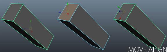 Align Pivot to Selection MEL for Maya